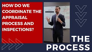 How do We Coordinate Appraisals And Inspections?