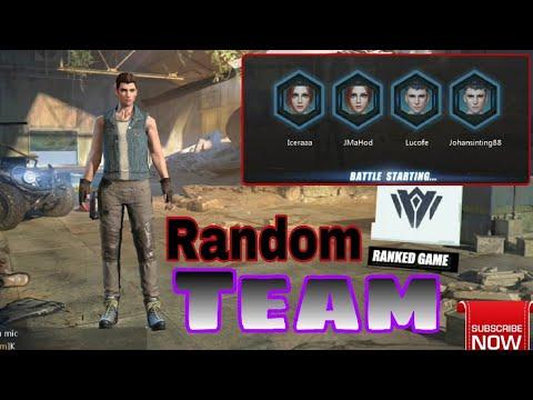 SQUAD! Random Team Win ; happy dapet team pro | Rules of Survival - Indonesia