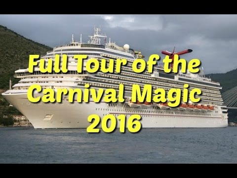 Thumbnail: Carnival magic - Full tour 2017 - we tour the ship and talk about all the areas