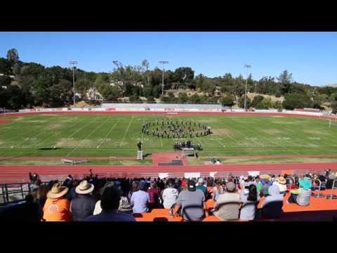 "Arroyo Grande High School Band and Color Guard 2017 ""Bond, James Bond"""