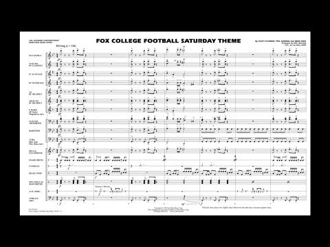 Fox College Football Saturday Theme arr. Eric Wilson