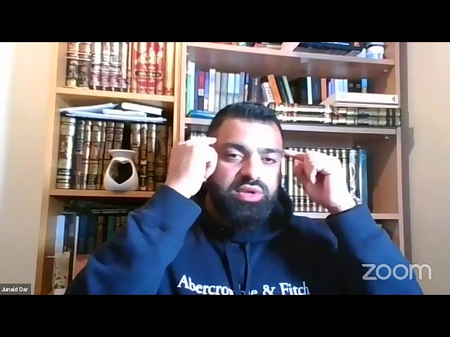 Tafsir ul Quran - at Hounslow Muslim Centre with Shaykh Junaid Dar Lesson 57 Surah Al Imran V100