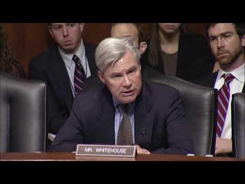 Sen. Whitehouse:  Damien Michael Schiff