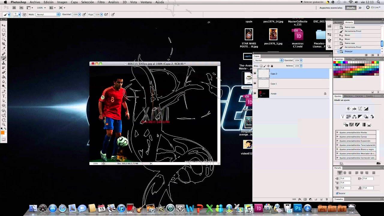 Splash effect in Photoshop | Brush | Tutorial | ManuelAgui.com