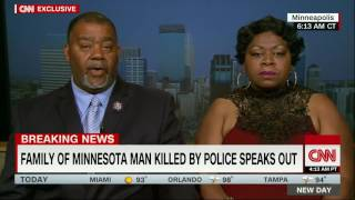 Valerie Castile and Clarence Castile