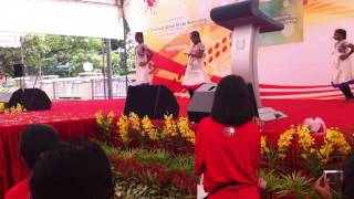 T-Net Club Indian Dance performance at PAYM Loves Red 2013