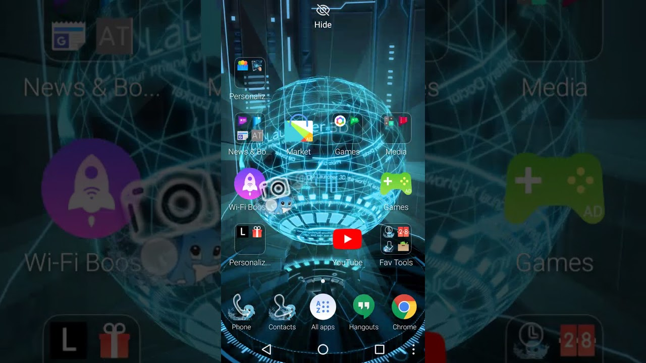 cm launcher 3d theme/live wallpaper - future earth|Update 2017 Year! - YouTube