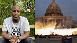 DMX Gives Powerful Speech Before The Collapse Of America! 🙏🏽