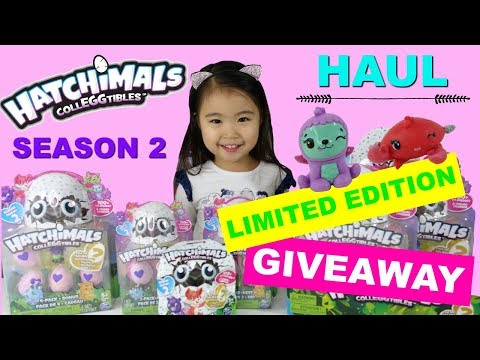 Season 2 Hatchimals CollEGGtibles Hacks and Limited Edition Hatchimal CollEGGtible Giveaway