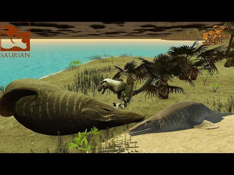 Saurian SWIMMING IS DANGEROUS! Mosa Update/New Devlog/New Playable Dino Coming Soon!