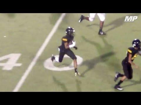 Tadion Lott High School Football Highlights Youtube