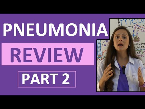 Pneumonia Treatment, Nursing Interventions, Antibiotics Medication | NCLEX Respiratory Part 2