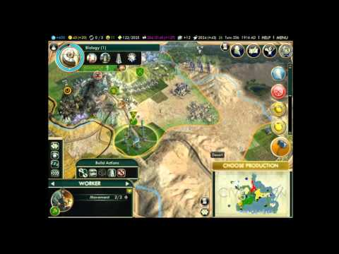 Civilization 5 - Part 31 - Discovery of the Oil Fields!