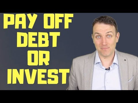 PAY OFF DEBT OR INVEST IN STOCKS?