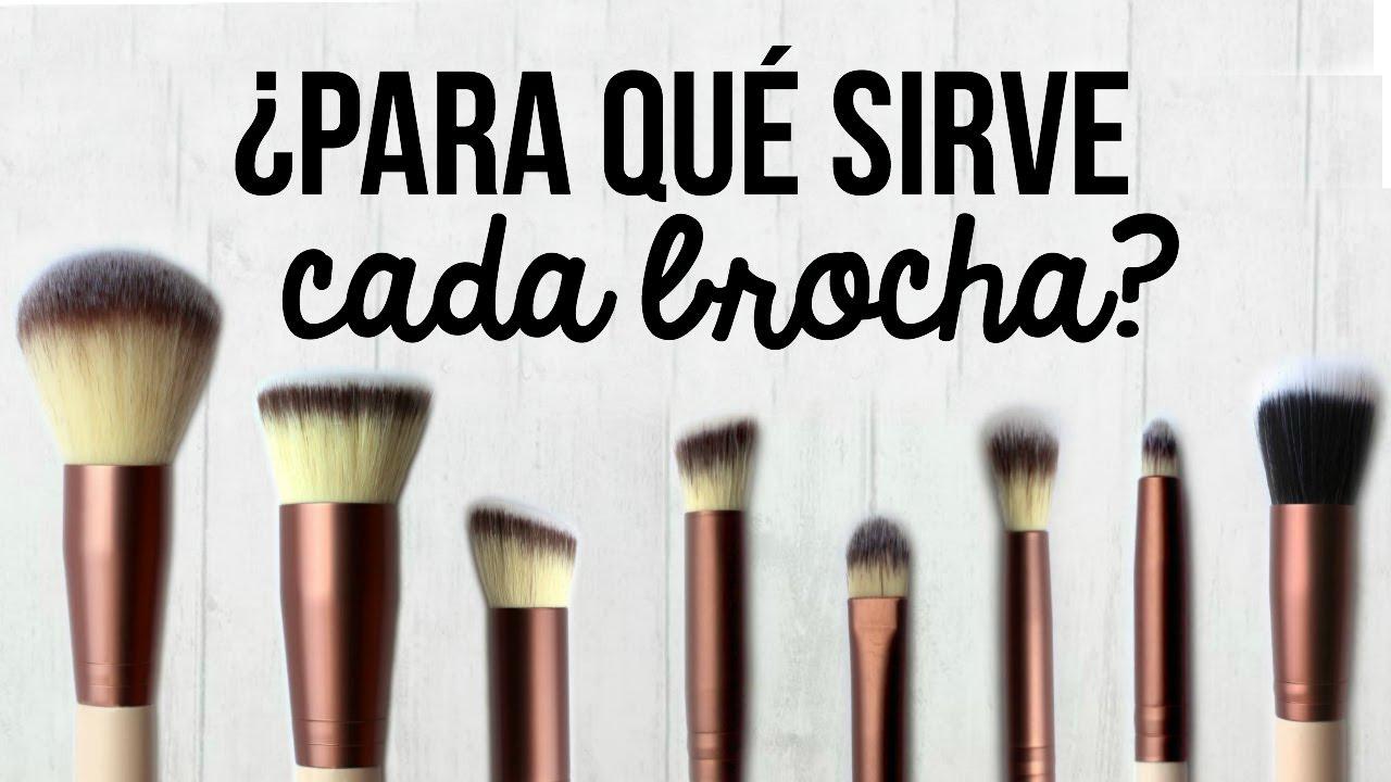 PARA QUÉ SIRVE CADA TIPO DE BROCHA?!! | Valeria Basurco