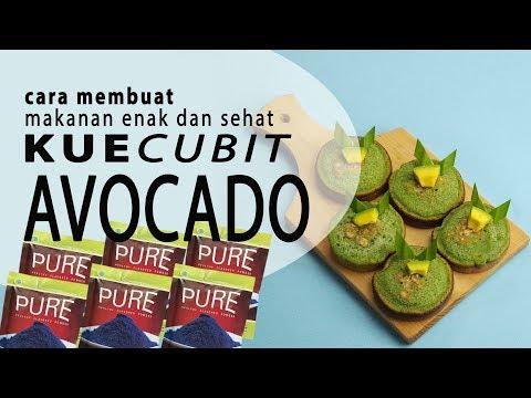 cara-membuat-makanan-enak-dan-sehat-:pure-kue-cabut-avocado