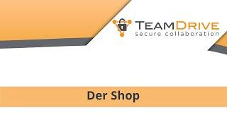 TeamDrive - Der neue Shop [Tutorial]