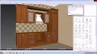 Построение кухни в EKitchen 1