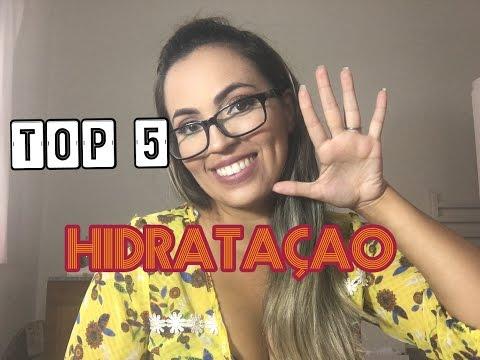 TOP 5 MASCARAS DE HIDRATAÇÃO