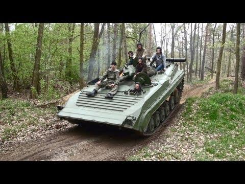 Militärfahrzeugtreffen Wünsdorf mit BMP-1 ZIL130 Ural 375D IFA W50 Sachsenring P3 LO2002 NVA