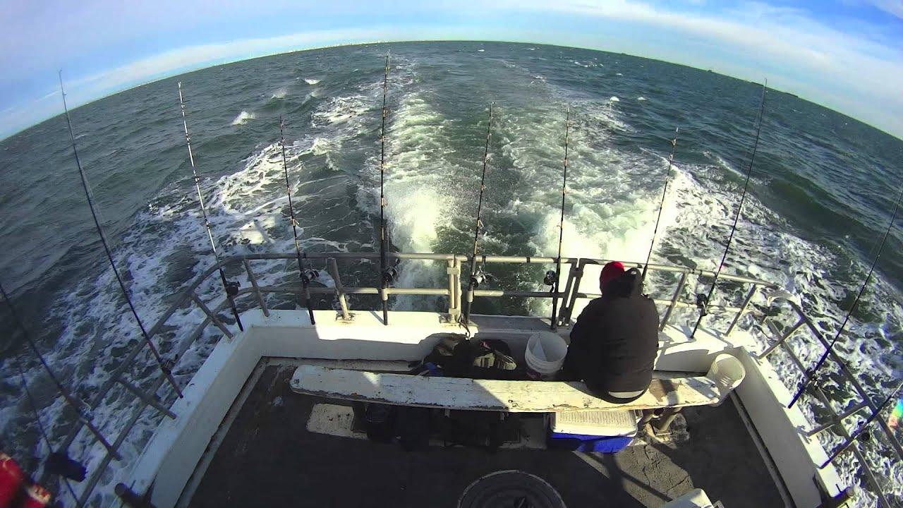 Sheepshead bay fishing timelapse youtube for Sheepshead bay fishing