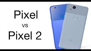 Pixel vs Pixel 2 Сравнение скорости работы на Android 8.1