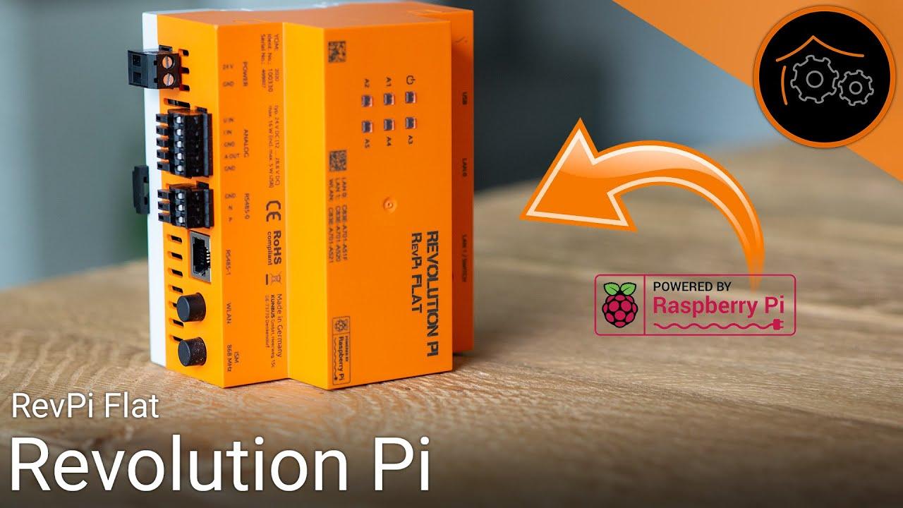 RevolutionPi - der etwas andere Raspberry Pi   haus-automatisierung.com [4K]