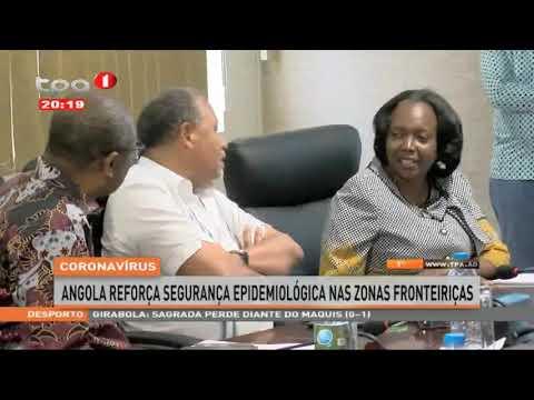 Corona   Angola reforça segurança epidemiológica nas zonas de fronteiras