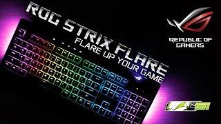 Обзор клавиатуры Asus ROG Strix Flare!