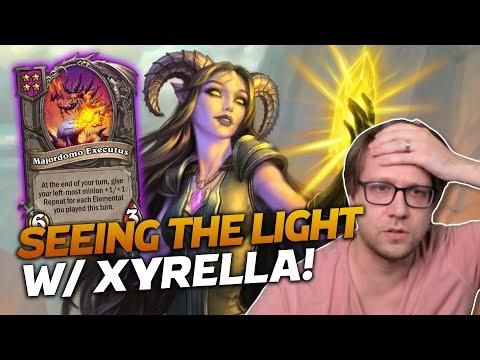 Download Seeing the Light with Xyrella! | Hearthstone Battlegrounds | Savjz