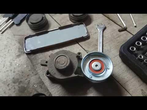 Информация о замене роликов ремня генератора самостоятельно на CHERY AMULET