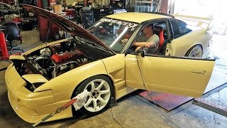 My 240SX Goes Back on the Dyno...