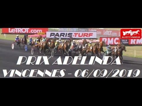 PRIX ADELINDA TIERCE QUINTE 06-09-2019 - AU PETIT PARIEUR