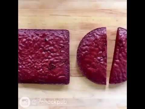Kalp şeklinde pasta