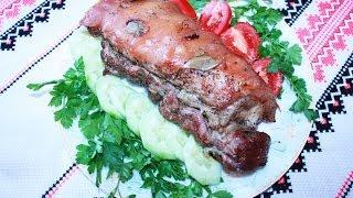 Вторые блюда рецепты свинины в рукаве Блюда из мяса рецепты в духовке и рукаве свинина рецепт просто