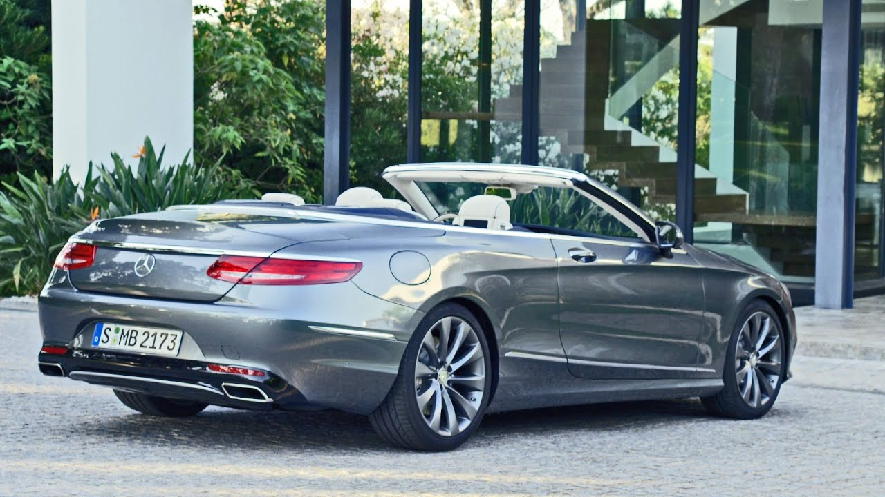 Mercedes C180 Coupe >> Mercedes S-Class CABRIOLET (2016) - YouTube
