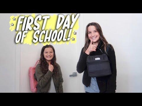First Day of School! (WK 401.6) | Bratayley