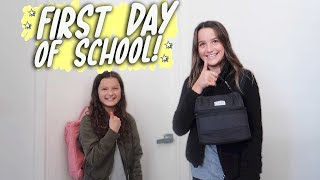 First Day of School! (WK 401.6) | Bratayley