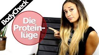 Die Protein Lüge - Wieviel Eiweiss wann sinnvoll - Optimaler Muskelaufbau - Vegan - BodyCheck