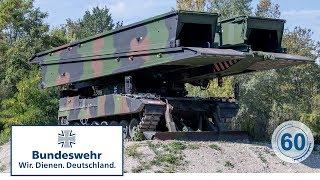 60 Sekunden Bundeswehr: Panzerschnellbrücke Leguan