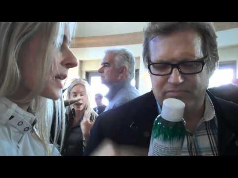 Drew Carey and Nicole Jaracz with NYM at Oscar suite 2011