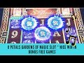 8 PETALS GARDENS OF MAGIC SLOT * NICE WIN IN BONUS FREE GAMES - SunFlower Slots