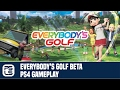 Everybody s Golf Beta PS4 Gameplay