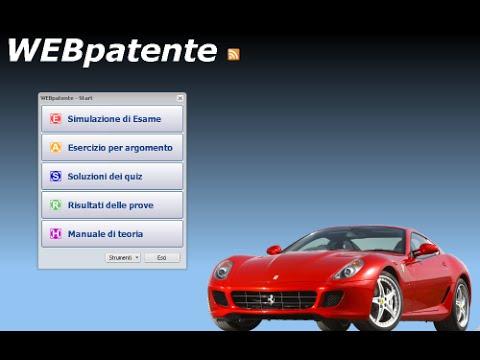 SCARICA WEBPATENTE 4.0 GRATIS