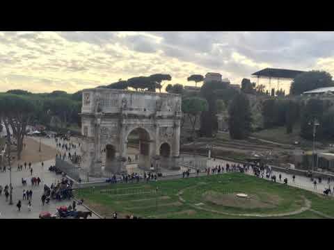 Piazza del Colosseo in European Rome, Metropolitan City of Rome, Italy