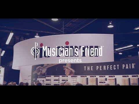 Vic Firth Drum Sticks - PureGrit and Double Glaze - Winter NAMM 2018