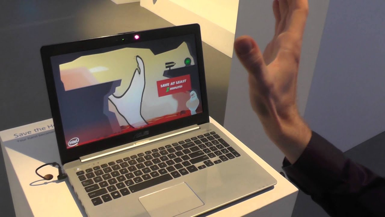 Intel Future Technology 2014 - v. cool tech demos - YouTube