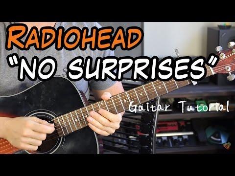 Radiohead - No Surprises - Guitar Lesson