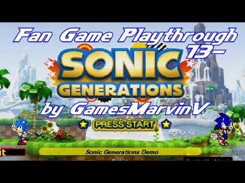 Fan game playthrough 13 marvin's sonic generations fan game.