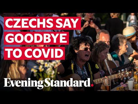 Czech Republic bids coronavirus farewell: Prague hosts party as Covid-19 lockdown ends